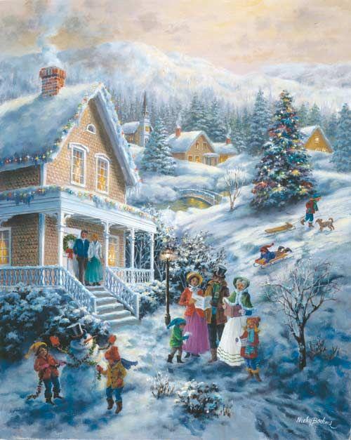 65 best Christmas Art images on Pinterest | Vintage christmas ...
