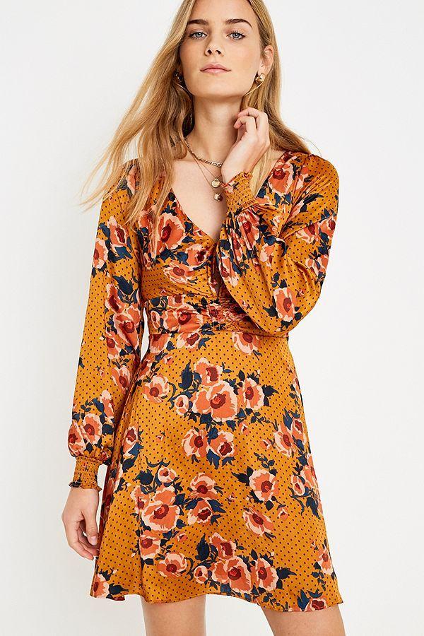 d193eae75902 Free People Morning Light Floral Mini Dress | Dresses | Dresses ...