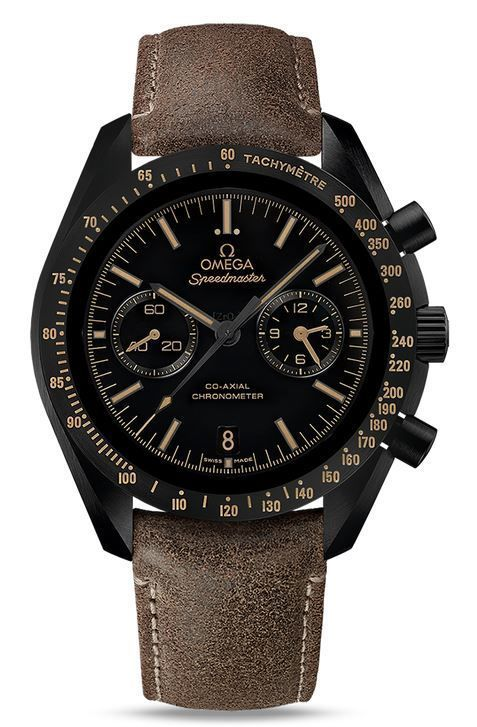 """Omega Speedmaster Moonwatch Co-Axial Chronograph """"Dark Side of the Moon Vintage Black"""" Men's Watch 311.92.44.51.01.006 - mens brand watches, mens designer watches on sale, mens watches cheap"""