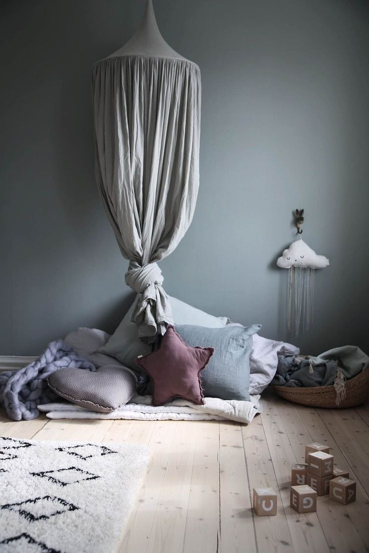 Here are some beautiful girls rooms in very different shades of blue to inspire you. Blue is a beautiful calming colour that isn't just for boys rooms.