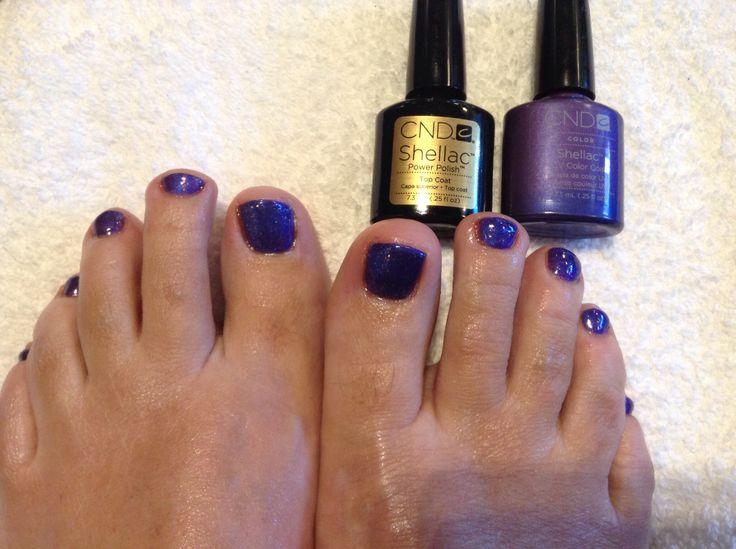 Shellac toes