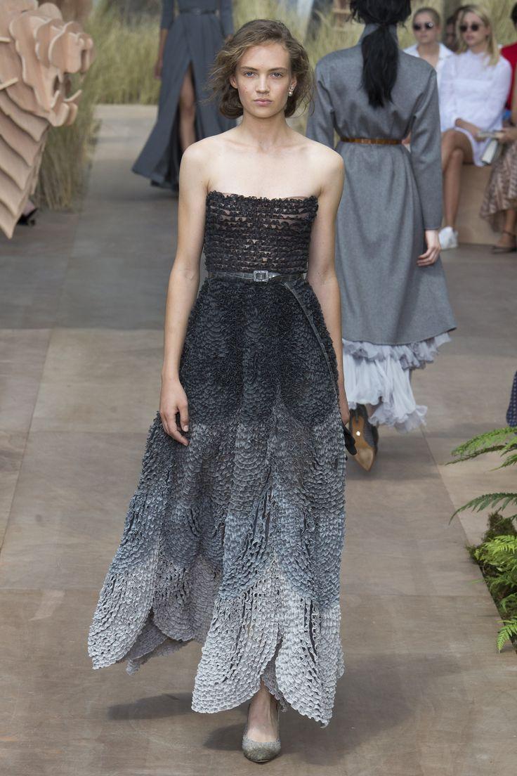Christian Dior Fall 2017 Couture Fashion Show - Adrienne Jüliger (Viva)