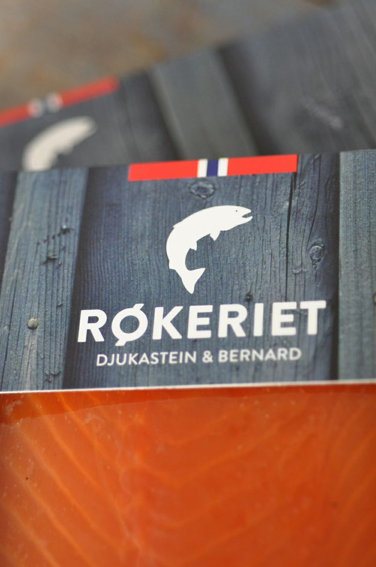 Logo for the fish smokery Røkeriet in Bergen, Norway. Design: Hege Jørgensen.