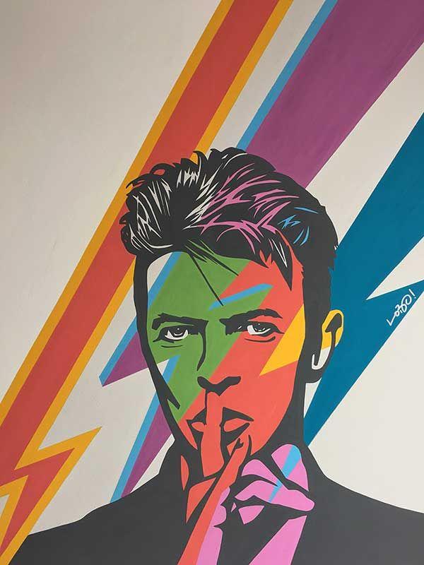 Gift Idea Print Portrait David Bowie Wall Art Home Decor Pop Art Baal Bertold Brecht