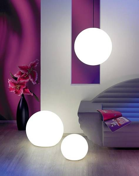 Moonlight e le lampade a globo per indoor&outdoor