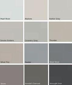 Best Blue Grey Paint Color best 25+ bluish gray paint ideas on pinterest | bathroom paint