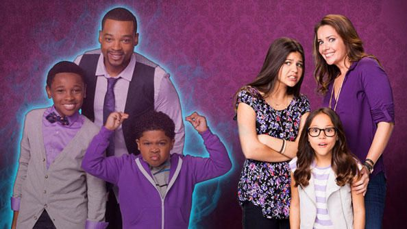 The cast of the haunted hathaways