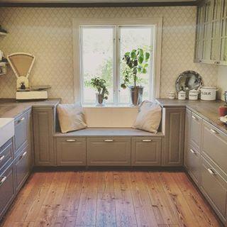 Super Küchenlösung für niedriges Fenster