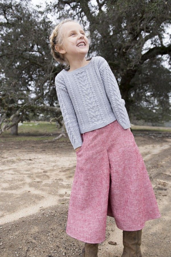 megan nielsen design diary: Tutorial // Adding Pockets to the Mini Tania culottes