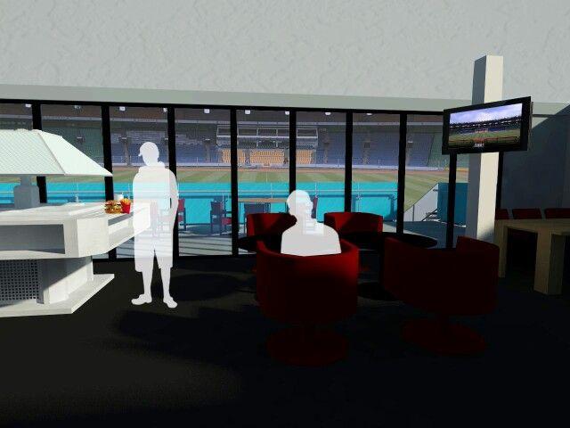 Redesign VIP-VVIP room at GBK Stadium Jakarta