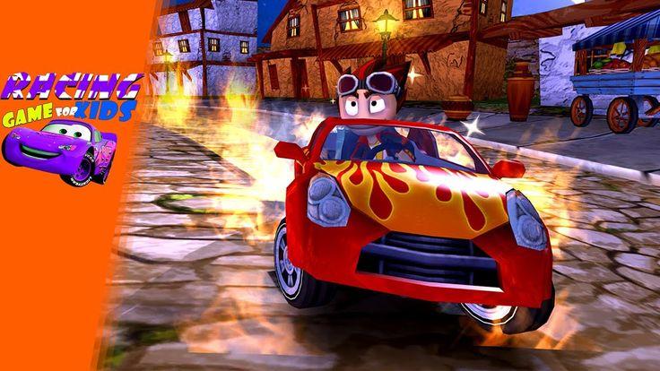 Beach Buggy Racing Gameplay - Free Cartoon Racing Game - Racing Games Fo...