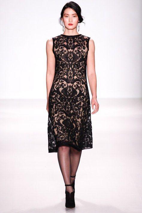 Tadashi Shoji AW2014 at NYFW - cocktail dress