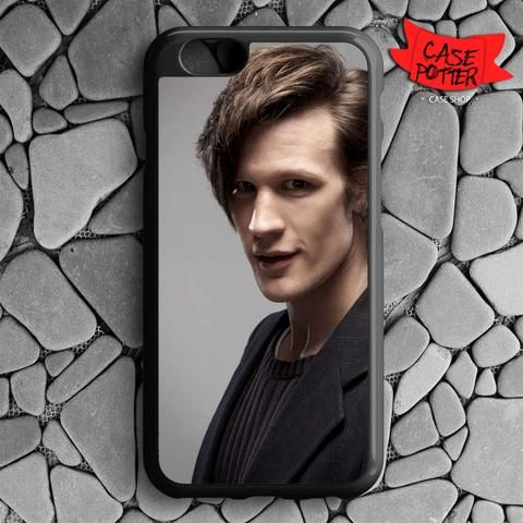 Matt Smith Is Doctor Who iPhone 6 iPhone 6S Black Case