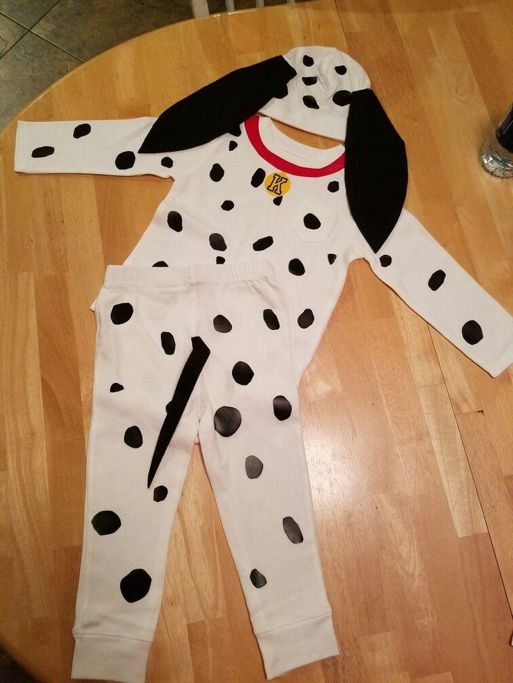 Custom dalmation holloween costume!