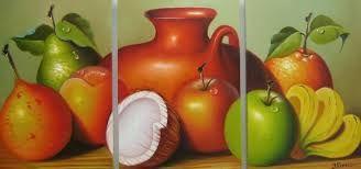 Resultado de imagen para oleos de frutas modernos