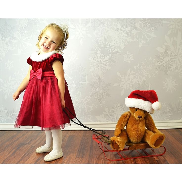Kids Christmas photo. Indoor studio. yourphotostudio.org