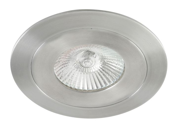 Luxe Round Fixed 50w Downlight in Stainless Steel