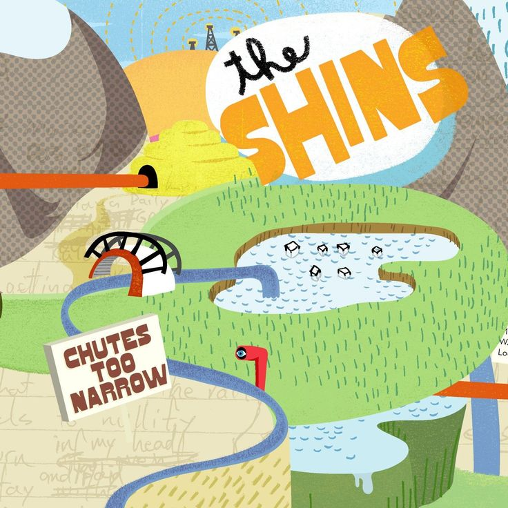 The Shins - Chutes Too Narrow on LP