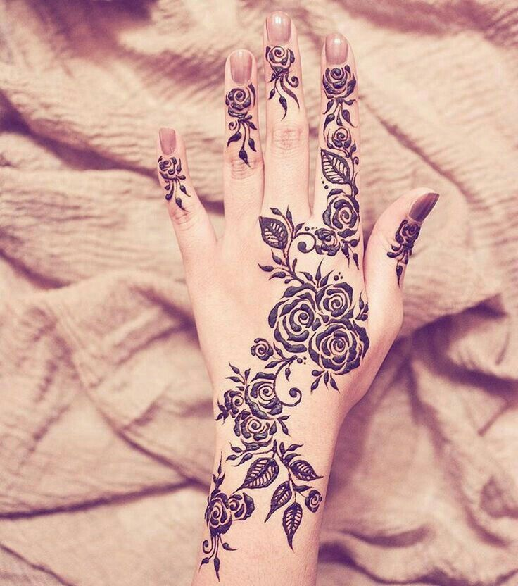 Latest henna design