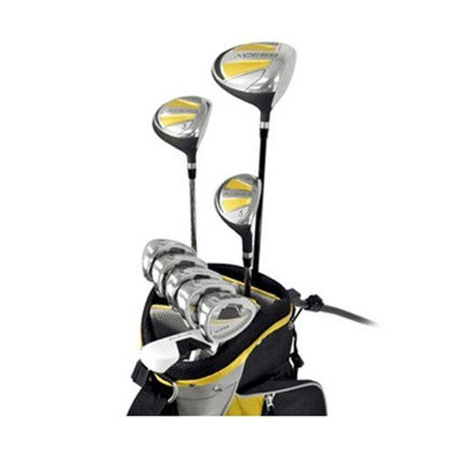 The idea weighted driver in these mens xcess complete golf club sets by Knight yield the greatest distance possible with every swing