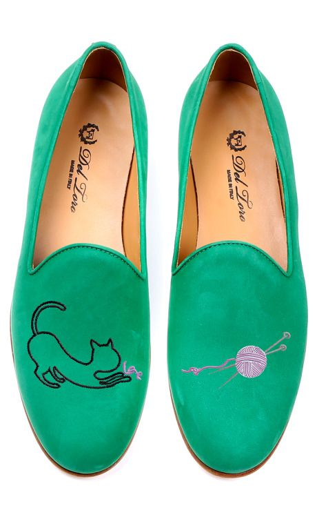 Cat And Yarn Loafer by Del Toro for Preorder on Moda Operandi