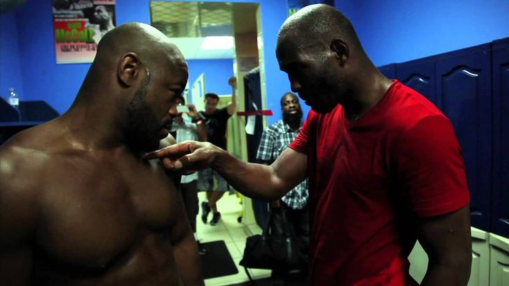 Rashad Evans Meet Bernard Hopkins & lession