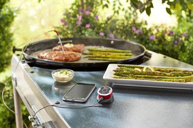 Weber lar deg følge grill-temperaturen via mobilen - Billig byggevarehandel