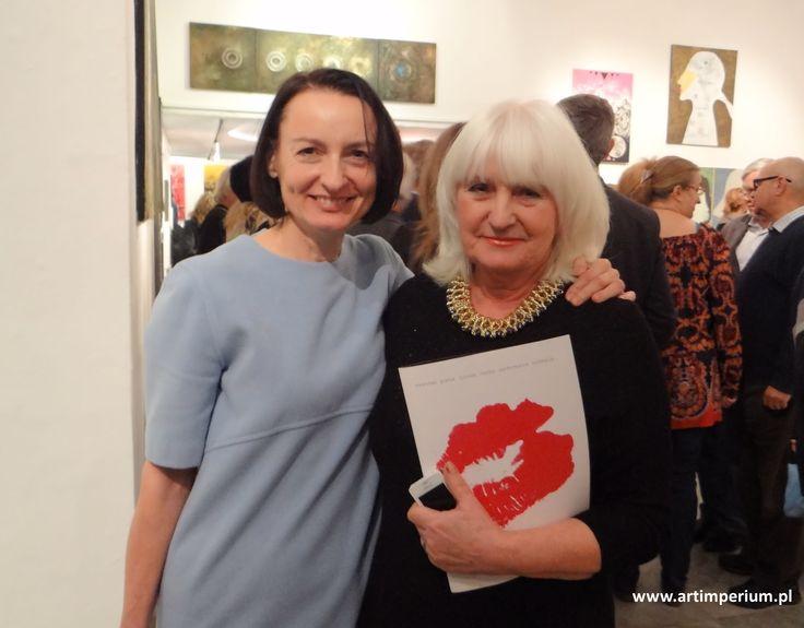 Młodzi Sztuką - Iwona Ostrowska i Bożena Leszczyńska