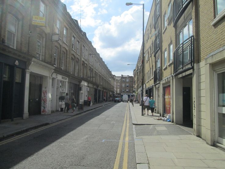 "Cheshire Street – The site of The Repton Boys Club shooting (Freddie Foreman) and where scenes from, ""Lock, Stock and Two Smoking Barrels"" were filmed"