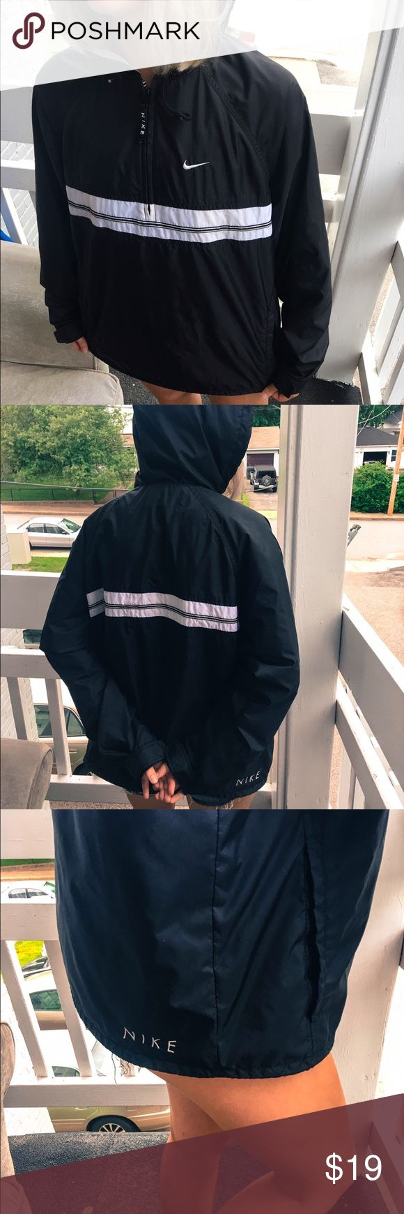 Nike windbreaker Men's medium / worn a couple times / message me if you have questions Nike Jackets & Coats Windbreakers