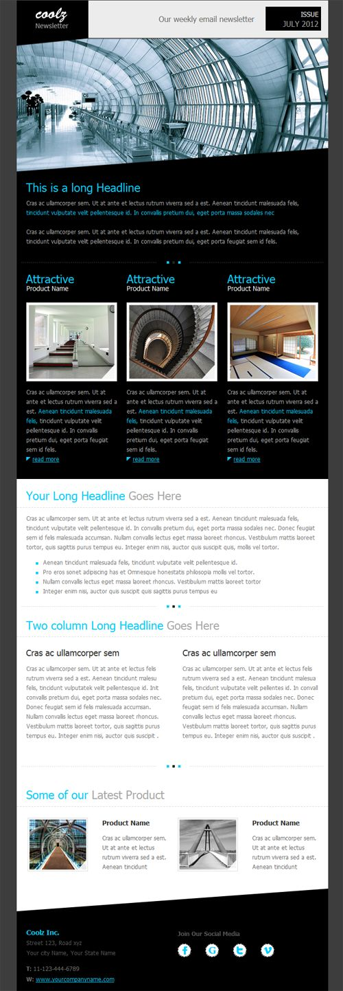 17 best ideas about email newsletters on pinterest email for Beautiful newsletter design