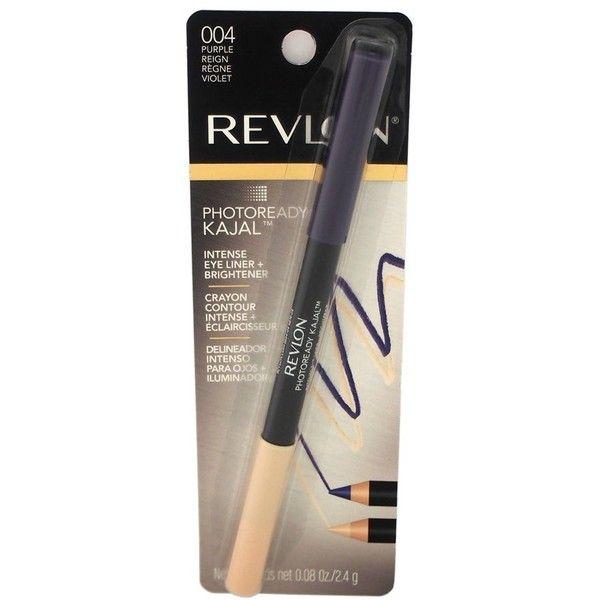Revlon Photoready Kajal Intense Eye Liner - # 004 Purple Reign For... ($7.50) ❤ liked on Polyvore featuring beauty products, makeup, eye makeup, eyeliner, purple, revlon eyeliner, revlon eye liner, revlon eye makeup and revlon