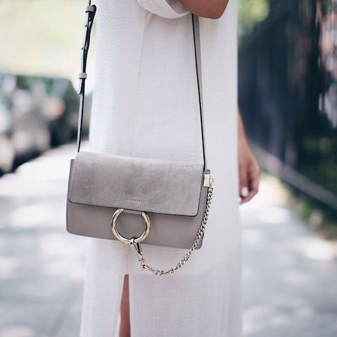 The Chloé Faye in grey is high up on our list of must-have bags.