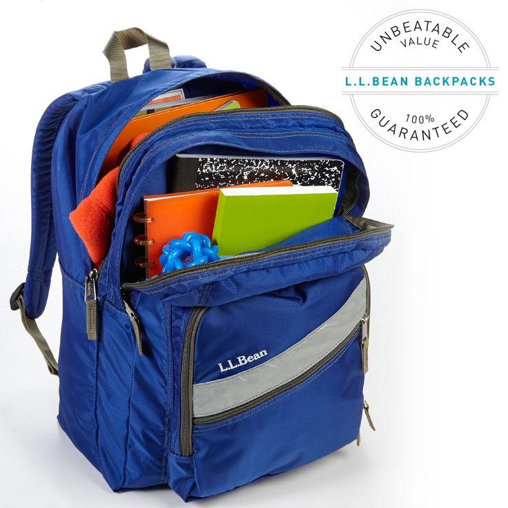 School Book Ll Bags Bean