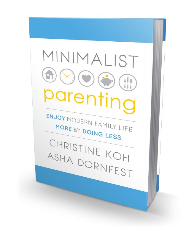 Minimalist Parenting: We're calling it the new must-have parenting book of the year, if not ever. What a super helpful, wonderful book!