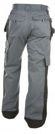 Dassy® Seattle Women Two-Tone Work Trousers with Multi-Pockets and Knee Pockets
