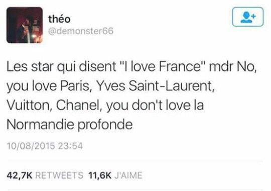 Fière d'habiter en Normandie :')