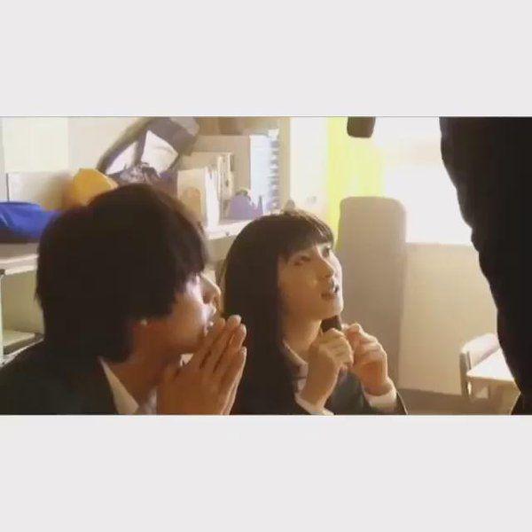 "[short clip] https://twitter.com/yamazak_kentoo/status/677320970072363009   Kento Yamazaki x Tao Tsuchiya, from Web ad, Comic cmoa x movie ""orange"", 2015"