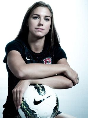 Women's soccer-   Alex Morgan out of the University of California is preparing for her first Olympics as a member of the U.S. national women's soccer team.