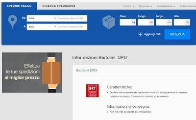 CASA, ARREDAMENTO E BRICOLAGE: Spedire un pacco? Il miglior servizio é dpd Bartolini  #DPD #BARTOLINI #PACKLINK