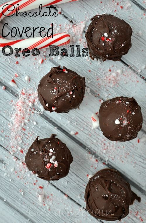 This Oreo Balls Recipe is simple but scrumptious. 3 ingredients is all you need. Take them to any party and they will be a favorite for sure.  For non holiday times just leave out the candy cane part