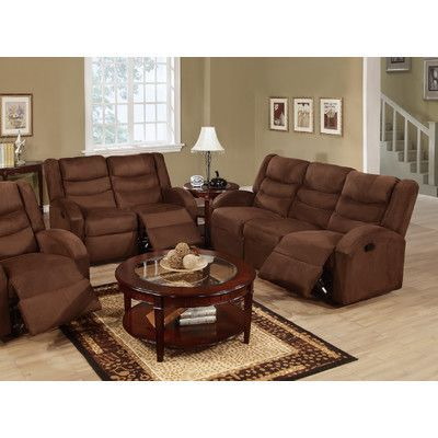 Rich And Vibrant Colors Of Chocolate Microfiber This Exceptionally Handsome  Rocker Recliner Loveseat And Motion Sofa Set Define Classic Style. Part 62