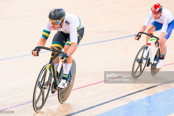 #TWC2017 Sam Welsford of Australia competes on Men's Omnium Elimination during 2017 UCI World Cycling on April 15, 2017 in Hong Kong, Hong Kong.