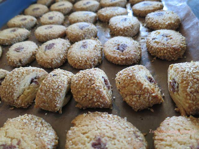 Ζουζουνομαγειρέματα: Μπισκότα με ταχίνι σοκολάτα και μέλι!