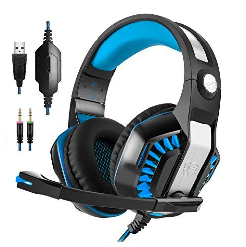 FarCry 5 Gamer  #KOTION EACH #G2000 #Vibrating Over-ear #Gaming #Headphones with #Mic, 2.2m #Cable, #LED #Light, #Noise #Reduction #Headset for #Computer #Game, #PS4, #Xbox One,Laptops,Tablet,Smartphones (Blue)   Price:     #KOTION EACH #G2000 Stereo #Gaming #Headset 2.2m #Cable #LED #Light Over-ear #Headphones with #Mic for #Computer #Game The #KOTION EACH #G2000 #headset is a professional #gaming #headset for #computer #game players. Customize the surround sound to your lis