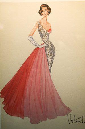 Valentino: Girls Birthday Party, Vintage Glamour, Dresses Sketch, New Fashion, Styles Icons, Girls Fashion, Fashion Trends, Fashion Illustrations, Fashion Sketch