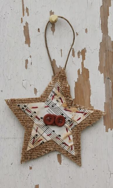 christmas decorations made from jute pictures | Christmas Every Monday - Part 2