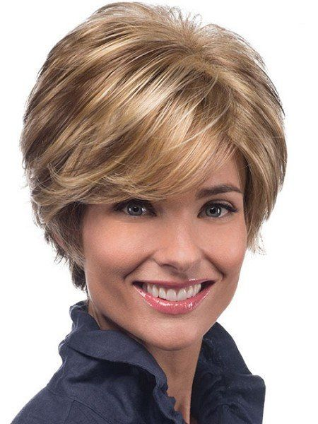 Avery radiates charisma with her beautiful wispy layers and flared back. Her long, side swept bangs complete her bold, yet classic look. This style is the perfect blend of beauty and comfort. PURE STR