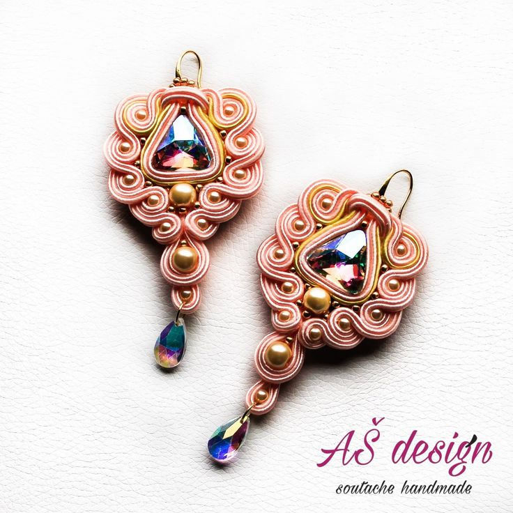 AŠ design Soutache Jewellery 2016 - luxury soutache earrings