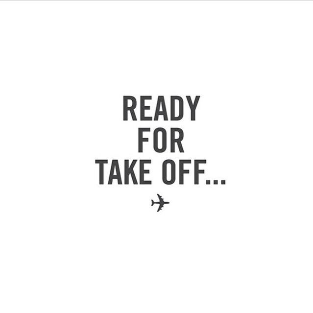 Airplane Quotes: Ready For Take Off ... ️